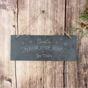 You added Personalised Hanging Slate 'Santa Please Stop Here' Sign to your cart.