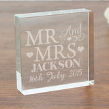 Mr & Mrs Crystal Token