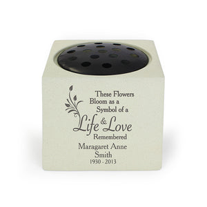You added Personalised Life & Love Memorial Vase to your cart.