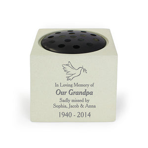 You added Personalised Dove Memorial Vase to your cart.