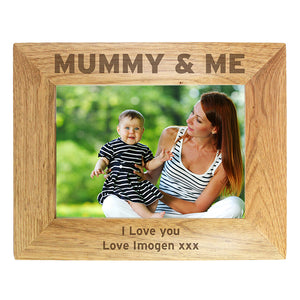 You added Personalised 7x5 Mummy & Me Wooden Photo Frame to your cart.
