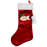 Personalised Cat Treats Christmas Stocking