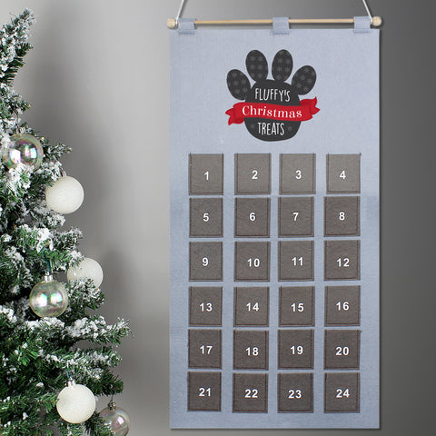 Personalised Pets Advent Calendar