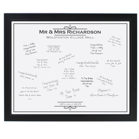 Personalised Message Frame for Any Occasion