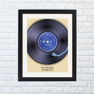 You added Retro Vinyl Poster of Favourite Record/Song with Black Frame to your cart.