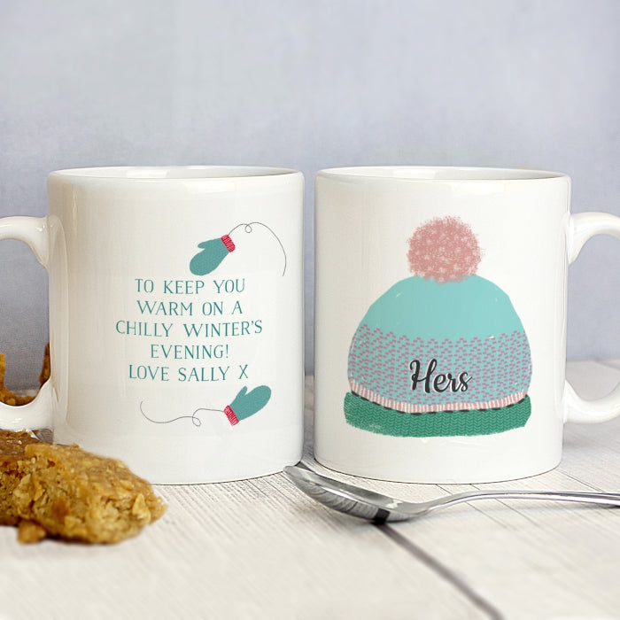 Woolly Hats Wintery Mug Set