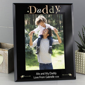 You added Personalised Daddy Black Glass 5x7 Photo Frame to your cart.