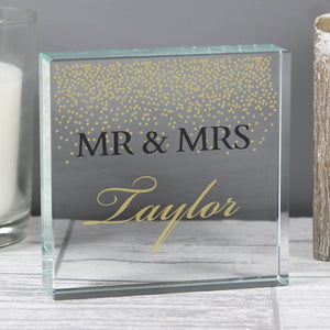 You added Gold Confetti Personalised Crystal Token to your cart.