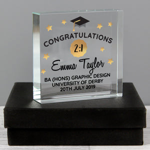 You added Personalised Congratulations Graduation Crystal Token to your cart.