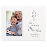 Personalised Cross Loving Memory 4x6 Light Up Frame