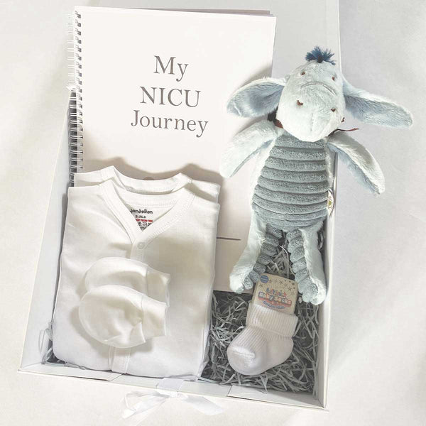 Personalised Disney Classic Hundred Acre Wood™ Premature Baby Gift Hamper - Eeyore