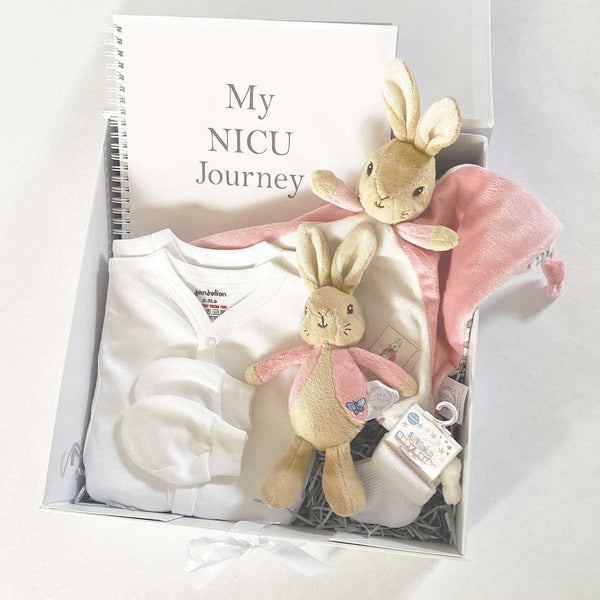 Personalised Classic Peter Rabbit™ Premature Baby Gift Hamper - Flopsy