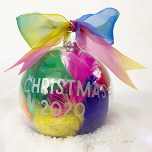 You added Personalised Rainbow Feathers Glass Bauble to your cart.