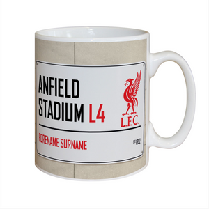 You added Personalised Football Street Sign Mug to your cart.