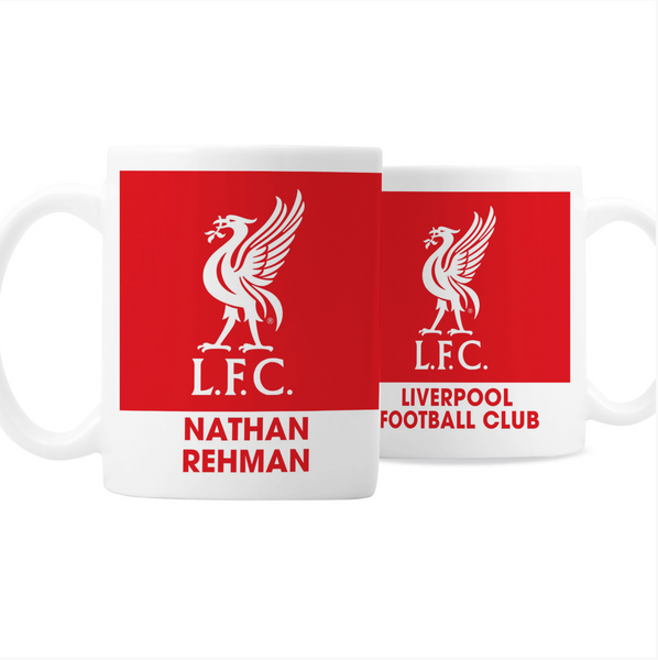 Personalised Football Team Badge Mug