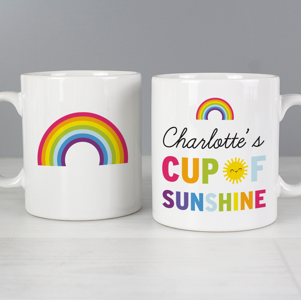 Personalised Cup of Sunshine Mug
