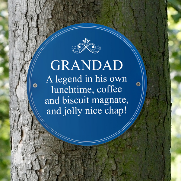 Personalised Indoor or Outdoor Heritage Plaque