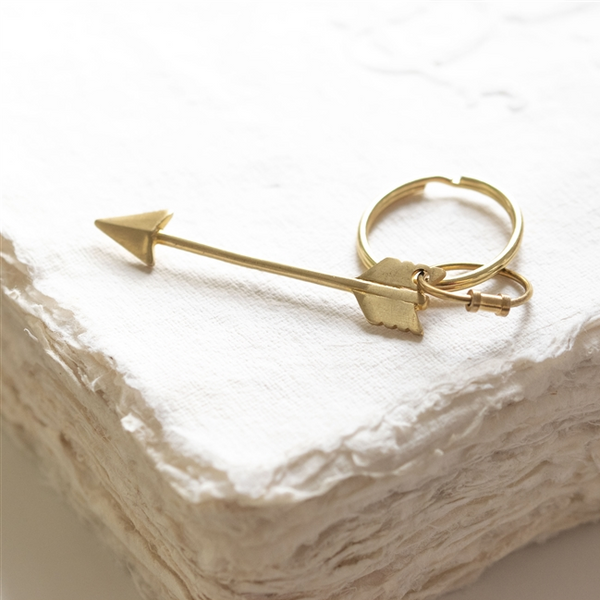 Cupid's Arrow Keyring