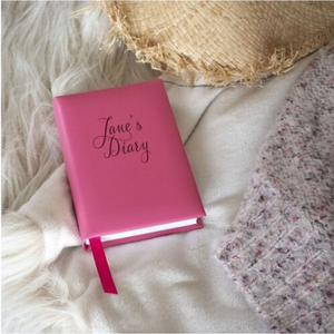 You added Leather 5 Year Diary in hot pink or aqua to your cart.