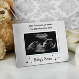 Personalised Baby Scan Photo Frame