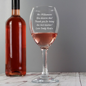 You added Personalised Wine Glass - Any Message to your cart.