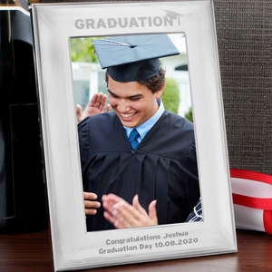 You added Personalised Graduation Silver Photo Frame to your cart.