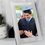 Personalised Graduation Silver Photo Frame