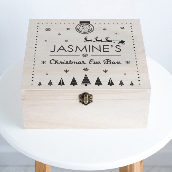 "Personalised ""Santa Claus"" Christmas Eve Box"