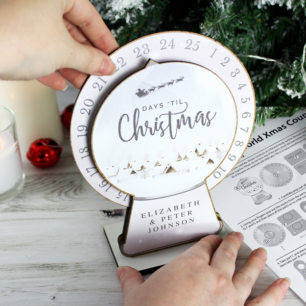 Personalised Build Your Own Christmas Advent Countdown Kit