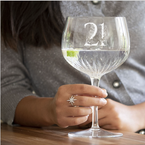You added Crystal Cut Milestone Gin Glass to your cart.
