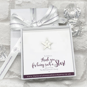 You added Star Pin Personalised Gift Box - Various Thoughtful Messages to your cart.