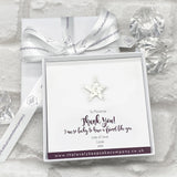 Star Pin Personalised Gift Box - Various Thoughtful Messages