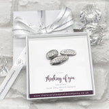 Love, Hugs & Strength Pebble Tokens Personalised Gift Box - Various Thoughtful Messages