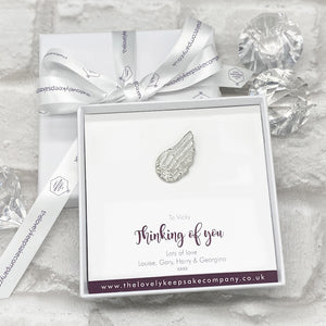 You added Wing Token Personalised Gift Box - Various Thoughtful Messages to your cart.