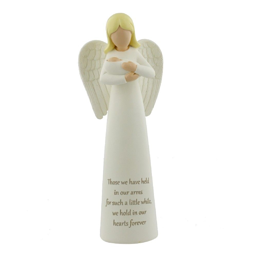 'Held In My Arms' Angel Ornament