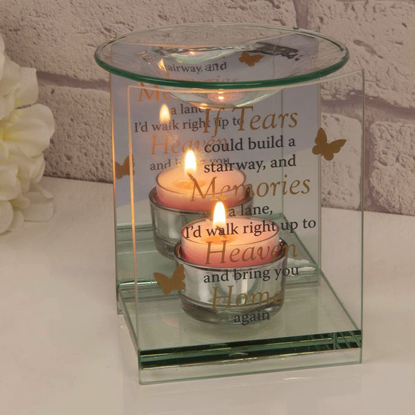 Remembrance Oil Burner - If Tears Could Build A Stairway