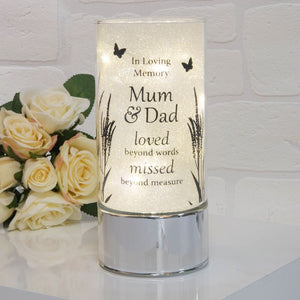 You added Thoughts of You Memorial Tube Light - Mum & Dad to your cart.