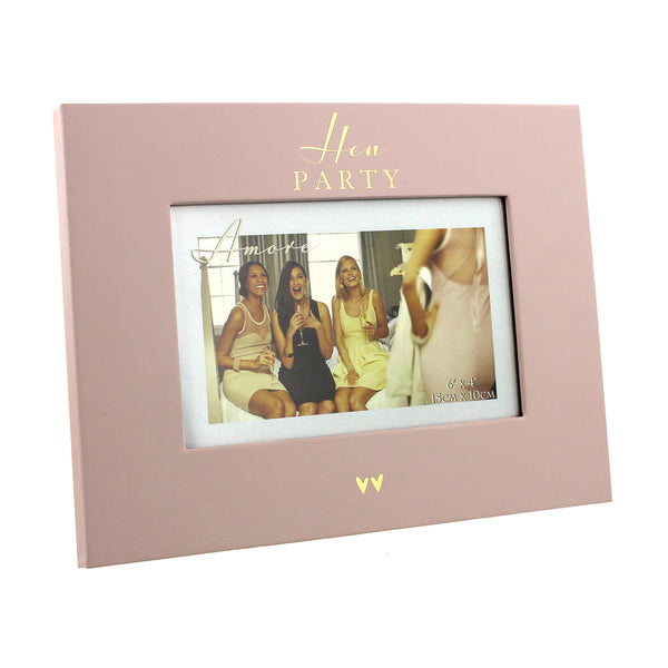 "Amore Hen Party 6""x4"" Photo Frame"
