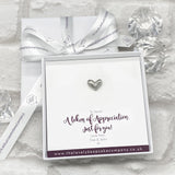 Mini Heart Token Personalised Gift Box - Various Thoughtful Messages