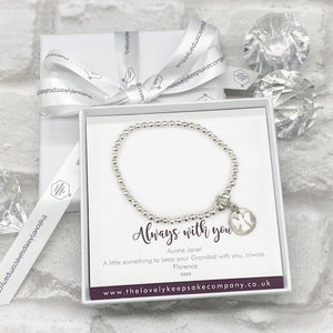 You added Angel Charm Bracelet Personalised Gift Box - Various Thoughtful Messages to your cart.
