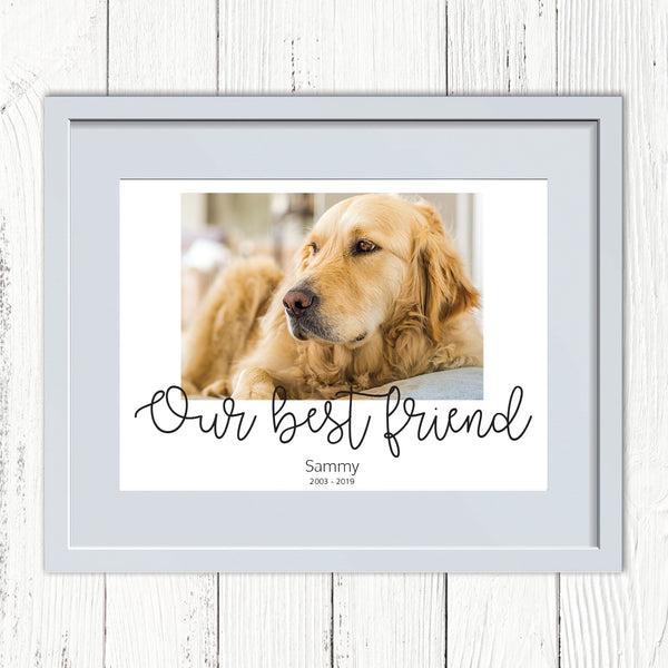 Pet Personalised Photo Print