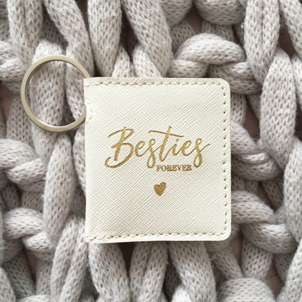 Besties Forever Photo Keyring