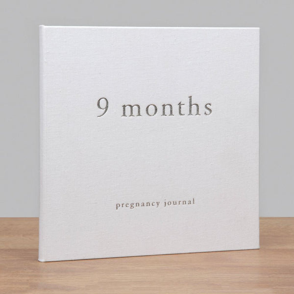 BAMBINO BY JULIANA® LINEN PREGNANCY JOURNAL - 9 MONTHS