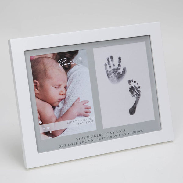 Bambino Photo Frame + FREE Inkless Hand & Footprint Kit