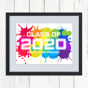 You added Personalised Rainbow Class of 2020 Print to your cart.