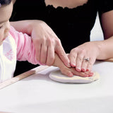 Clay Baby Hand & Foot Impression Moulding Kit - White, Pink, Blue