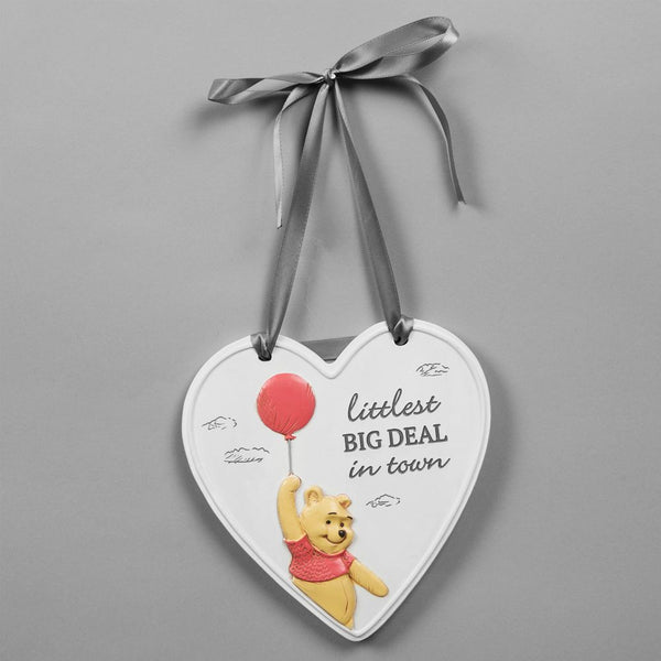 "Disney Christopher Robin Heart ""Littlest Big Deal"" Plaque"