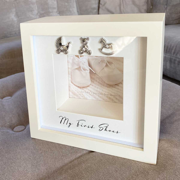 My First Shoes Keepsake Frame