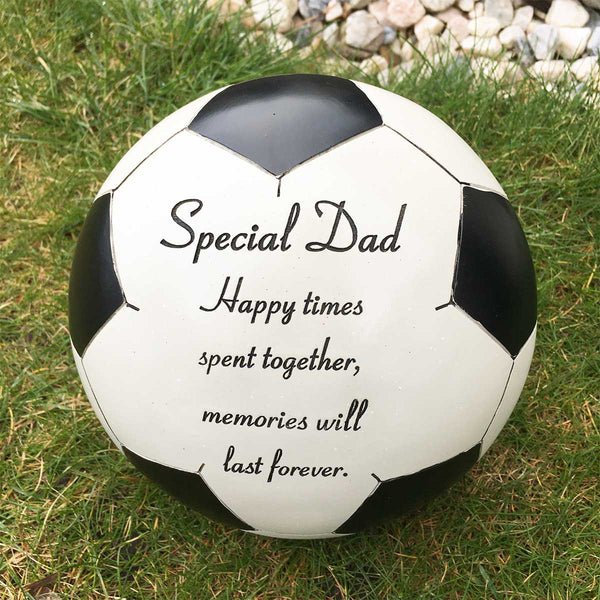 Football Outdoor Memorial - Special Dad