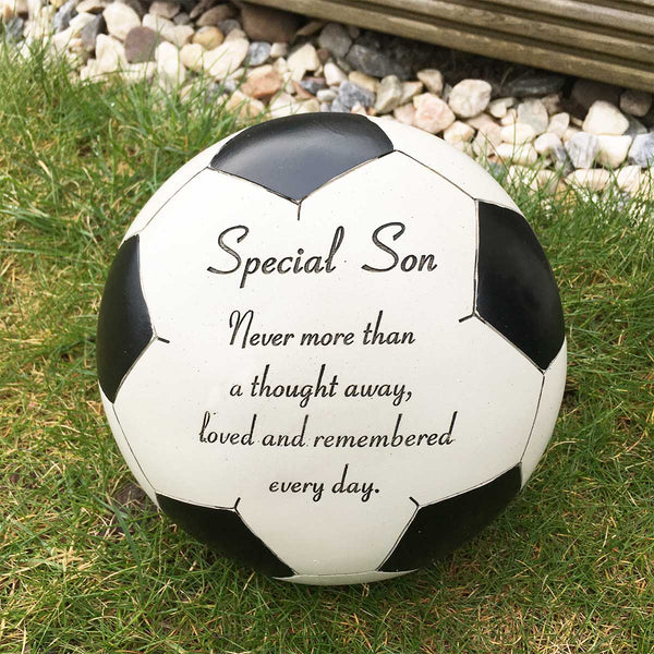 Football Outdoor Memorial - Special Son